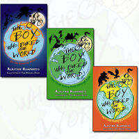 The Boy Who Biked the World Alastair Humphreys 3 Books Collection Set Pack NEW