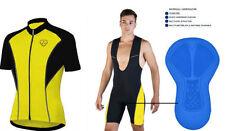Abbigliamento giallo per ciclismo uomo taglia L