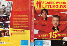 SCARED WEIRD LITTLE GUYS - THE FIRST 15-YEARS -DVD - NEW -NEVER PLAYED - R ALL