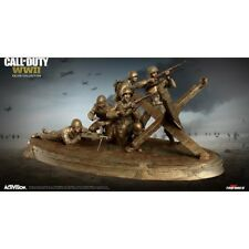 Call of Duty: WWII Valor Collector's Edition STATUE + NAZI ZOMBIE POSTER ONLY