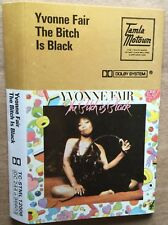 YVONNE FAIR The Bitch Is Black RARE1975 UK cassette paper labels PLAY TESTED Ex!