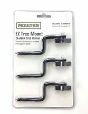 Moultrie 3 Piece Ez Tree Camera Tree Mounts For Trail Hunting Game Cameras New