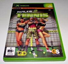 Outlaw Tennis XBOX Original PAL *Complete*