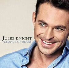 JULES KNIGHT Change Of Heart (2015) 12-track CD album NEW/SEALED Gary Barlow