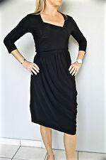 vestido sexy negro M&F GIRBAUD breeze atrapasueños T 38 ETIQUETA valorada en