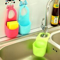 Creative Sponge Holder Kitchen Sink Bathroom Hanging Strainer Organizer Storage