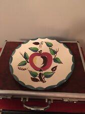 purinton pottery Slip Ware Apple Platter