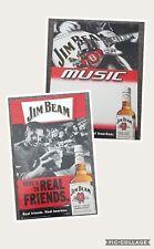 jim beam posters x2