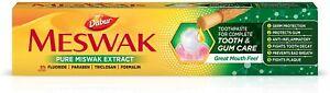 Dabur Meswak Herbal Toothpaste Fluoride Free Miswak Extract