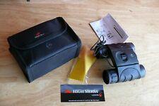 High Sierra 10x25 Waterproof Fogproof Hunting Golf Binoculars w/ Case