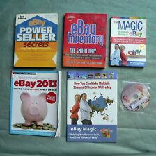 Bulk lot eBay books DVD Power Seller Secrets Making Money Selling How to Sell on