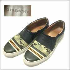 GIVENCY MENS LEATHER SHOES EU42 CAMOUFLAGE