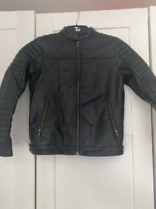 Next Boys Faux Leather Biker Jacket - Age 9
