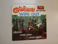"L.A. CHALLENGERS: Wipe Out +3-France 7"" 1966 Disques Vogue INT.18094 Orig.EP PCV"