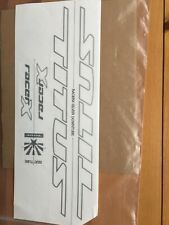 New Genuine TITUS Racer X Frame Bicycle Stickers Decals Mountain Bike MTB -