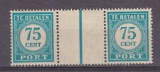 Port 64a pair MNH Nederlands Indie Netherlands Indies due portzegel Very Fine