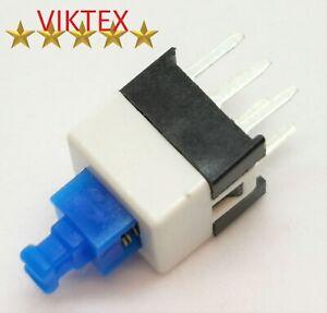 10X MIKROSCHALTER MICRO SCHALTER TASTER RASTEND MINI MINIATUR 6 PIN 7X7X12MM