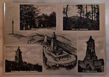AK Der Kyffhäuser Denkmal mit Oberburg  usw