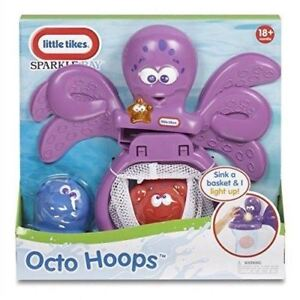 Little Tikes  Sparkle Bay Octo Hoops Bath Basket Baby Water Toy