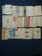 More details for a collection of non league programmes from the 50s