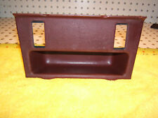 Mercedes Early C126 500SEC Center console BURGUNDY front OEM 1 Tray with 2 Slots