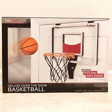 Funktion Deluxe Over the Door Basketball Hoop Rim Set Ball & Pump New & Sealed
