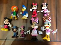 Lot Of 9 Disney Mickey Mouse Figures