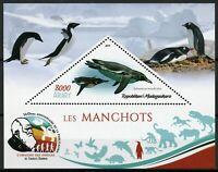 Madagascar Birds on Stamps 2019 MNH Penguins Penguin Manchots 1v M/S II