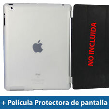 Carcasas, cubiertas y fundas transparente de plástico para tablets e eBooks Apple