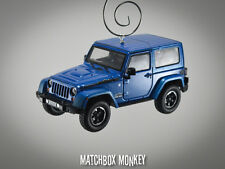 2014 Jeep Wrangler Unlimited Polar Edition 2 Door Christmas Ornament 1/43 X XJ