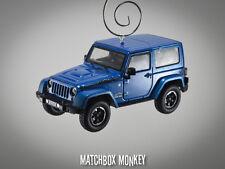 2014 Jeep Wrangler Unlimited Polar Edition 2 Door Christmas Ornament 1/43 X XJ