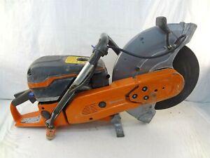 "Husqvarna K970 Power Cutter Gas Powered 16"" Max X-Torq Concrete Cut-Off Saw"