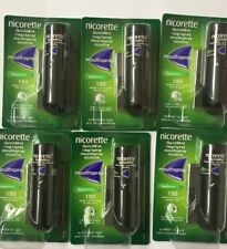 6 Packs of Nicorette QuickMist 1mg/Spray Mouthspray Freshmint 1 x 150 Sprays