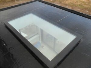 Flat Roof Glass / Roof Lantern Skylight Flat Rooflight Lantern - 1500mm x 1000mm