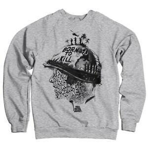 Officially Licensed Full Metal Jacket Sayings Sweatshirt S-XXL Sizes