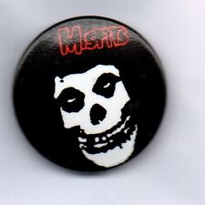 MISFITS - AMERICAN PUNK ROCK BAND BUTTON BADGE HORROR PUNK - STATIC AGE 25mm