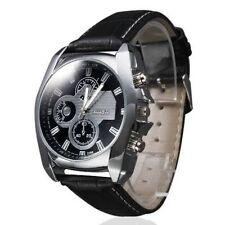 New Arrival Men's Dress Analog Quartz Business Leather Band Wrist Watch