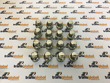 Land Rover Discovery 3 Stainless Capped Alloy Wheel Nuts x16 & Lock Nut x4 Kit