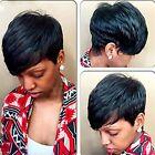 Wigs for Black Women Pixie Cut Short Brazilian Human Hair Wig Natural Straight