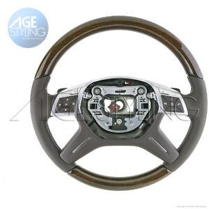 Mercedes-Benz ML350 ML550 GL350GL450GL550GLS350d Eucalyptus Mocha Steering Wheel