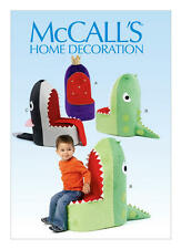 Pattern for Kids Seats Dinosaur ? Chairs Shark Dragon Throne McCall's M6856