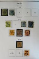 Sweden Clean 1800s to 2003 Good Completion Stamp Collection