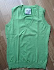 ESPRIT Pullunder Pullover Weste Strick grün Damen Gr. S NEU