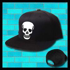 SKULL death SNAPBACK HAT Bucket hat baseball cap Dope FRESH swag TRILL flat peak
