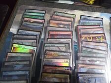 Huge Magic: the Gathering Holo Cards Lot of 94 Cards Various Sets/Rarities