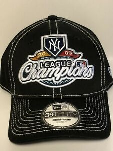 New Era 39Thirty 2009 League Champions Hat New York Yankees Youth One Size New