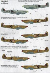 X72177 NEW Xtradecal 1:72  Supermarine Spitfire Mk.VIII Collection