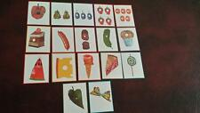 Hungry Caterpillar -FOOD CARDS - Story sequencing
