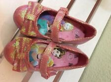 Disney princess shoes with heal size 6
