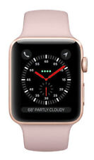 Apple Watch Series 3 38mm Gold Aluminium Case with Pink Sand Sport Band (GPS) - (MQKW2LL/A)